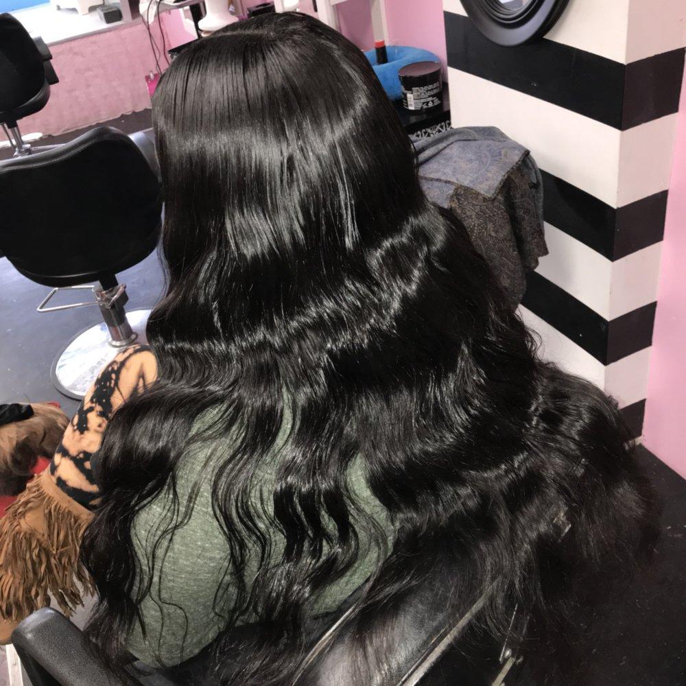 Monica's Doll House Hair & Beauty Bar: 1011 Woodbridge Center Way, Edgewood, MD