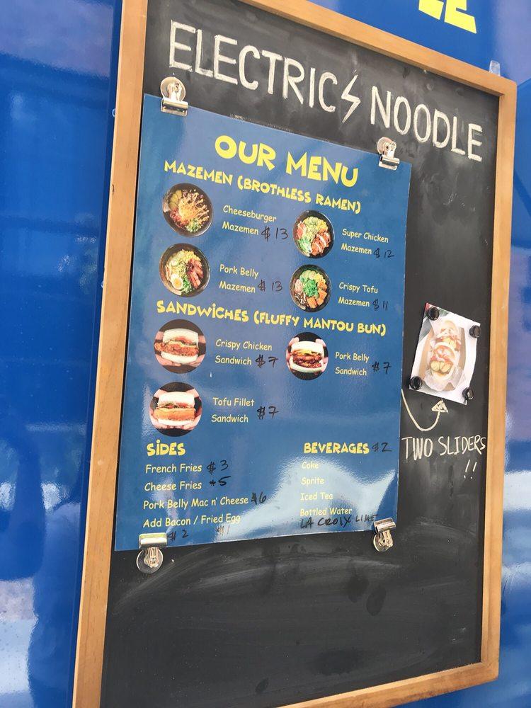 Electric Noodle: 705 S Marquette Ave, Minneapolis, MN