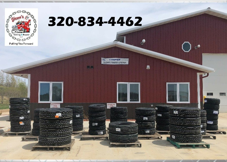 Glenn's Towing & Repair: 5227 Halvorson Rd NW, Garfield, MN