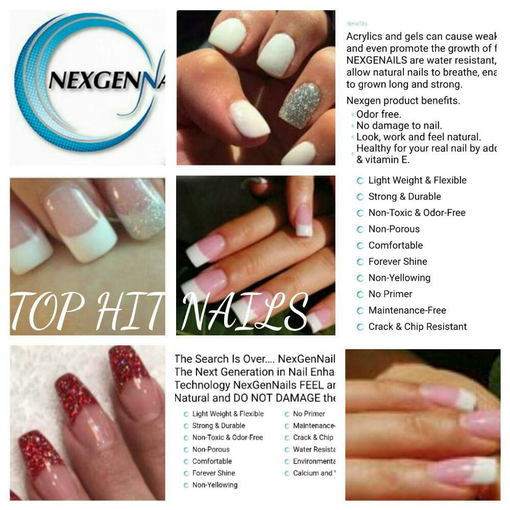 Nexgen color L47 on my natural nails, done my Michael - Yelp
