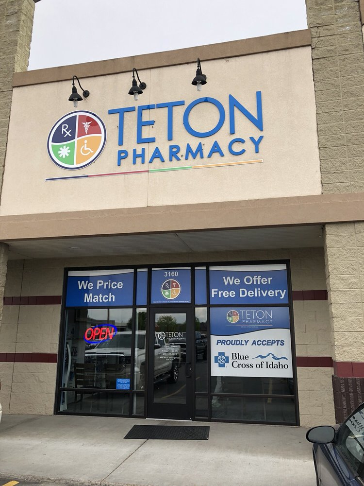 Teton Pharmacy: 3160 E 17th St, Ammon, ID