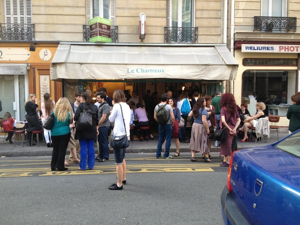 Le chartreux closed bistros 8 rue des chartreux luxembourg paris france restaurant - Restaurant rue des bains luxembourg ...
