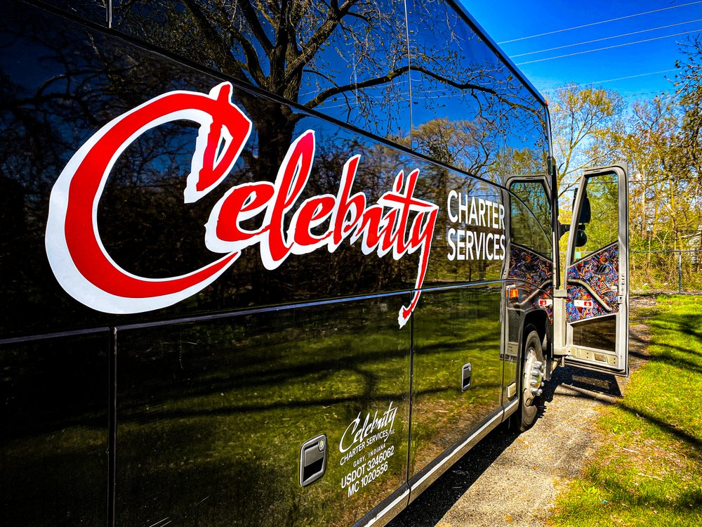 Celebrity Charter Services: 4308 E 6th Ave, Gary, IN