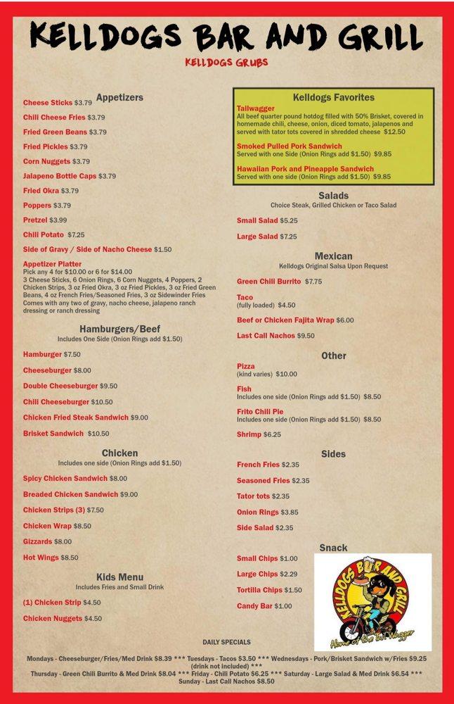 Kelldogs Bar and Grill: 617 Main St, Jetmore, KS