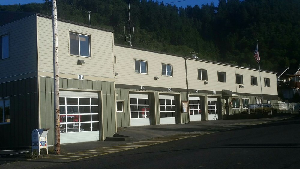 Garibaldi Fire Department: 107 6th Ave, Garibaldi, OR