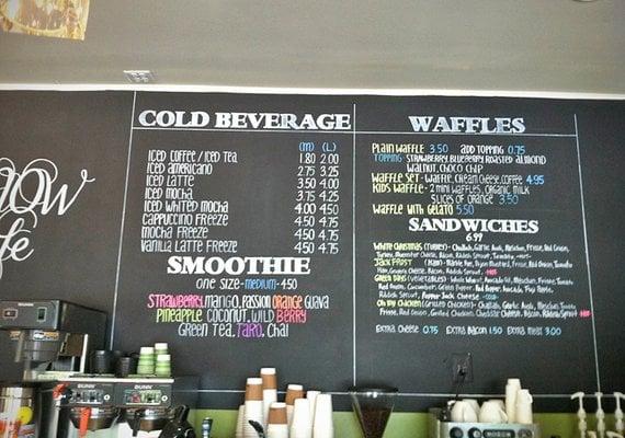 Snow Cafe Menu Ellicott City