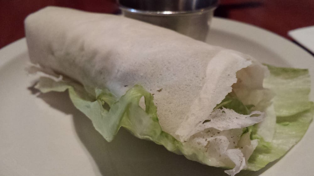 Popiah (cold spring roll)-bean sprout,oyster mushroom ...