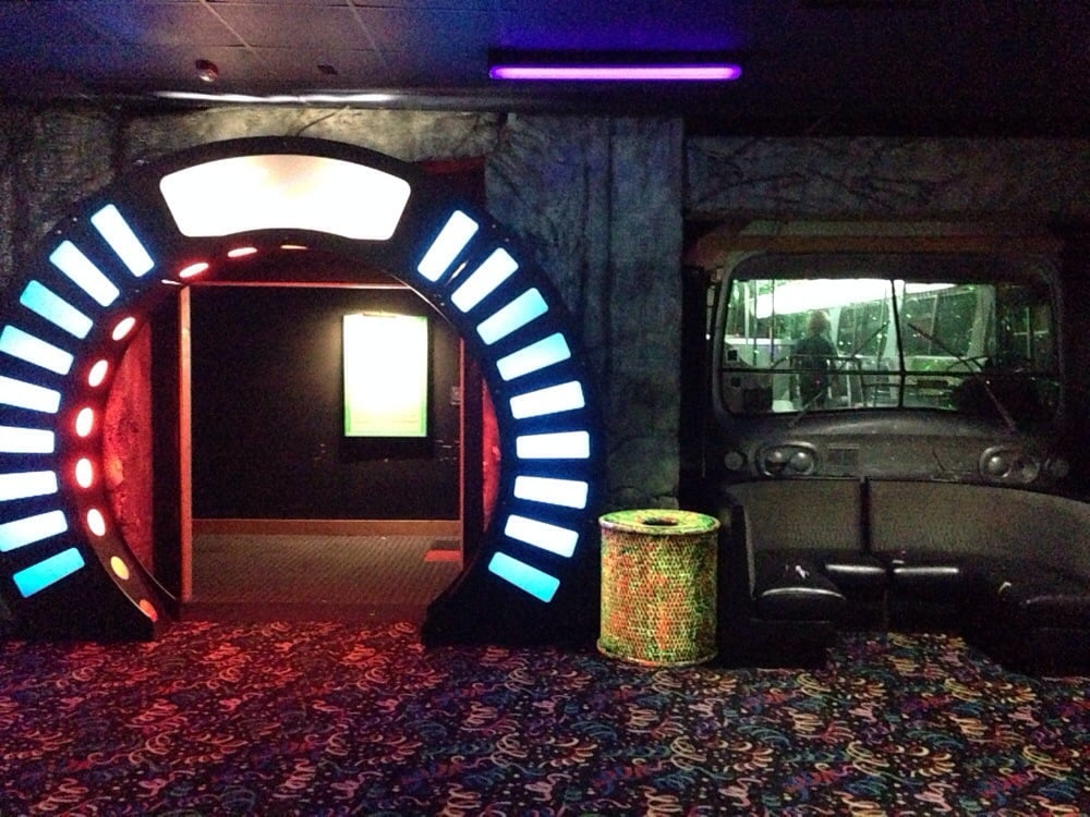 Laser Tag Floor Plan: Second Floor Entrance To Laser Tag