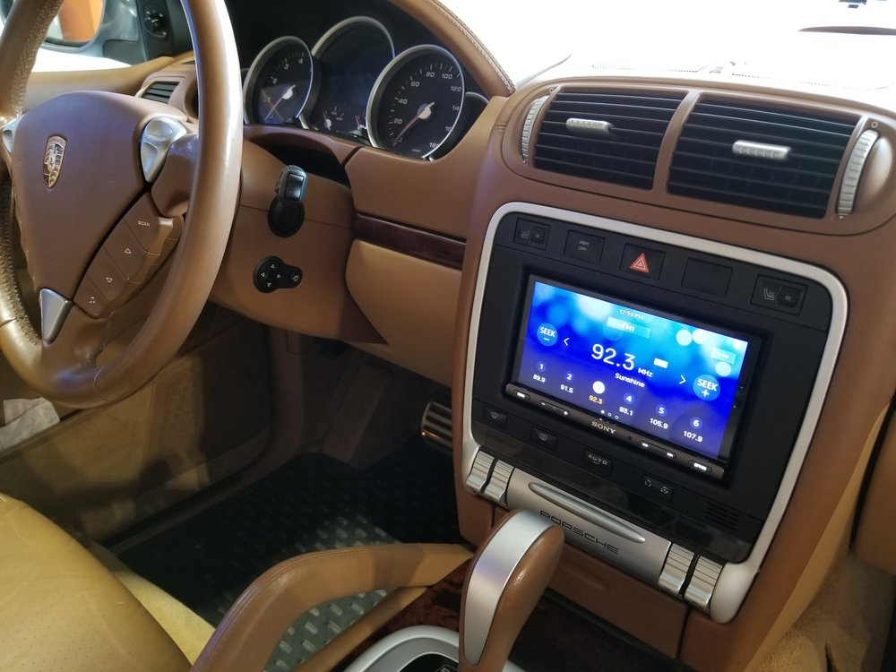 iPad Air built into 370z dash :) - Yelp