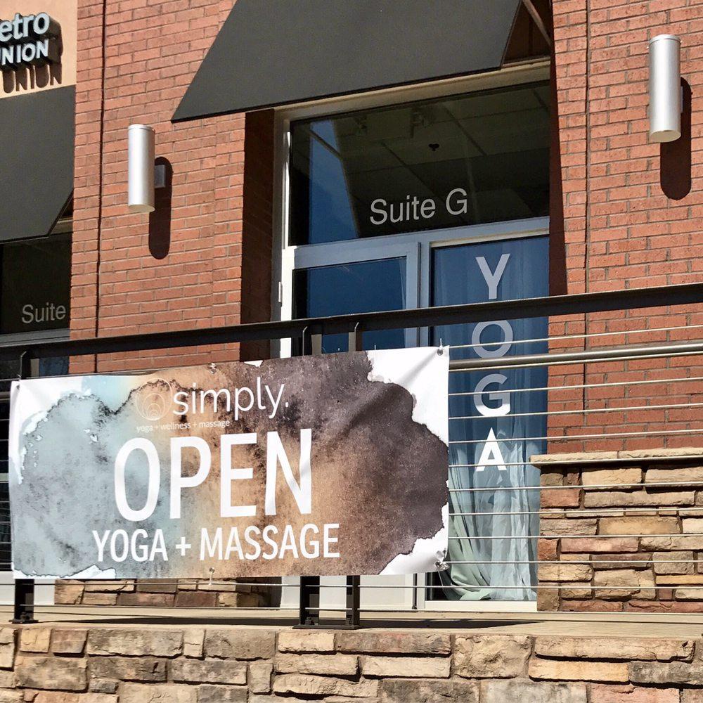 Simply. yoga + wellness + massage: 6425 Wilkinson Blvd, Belmont, NC