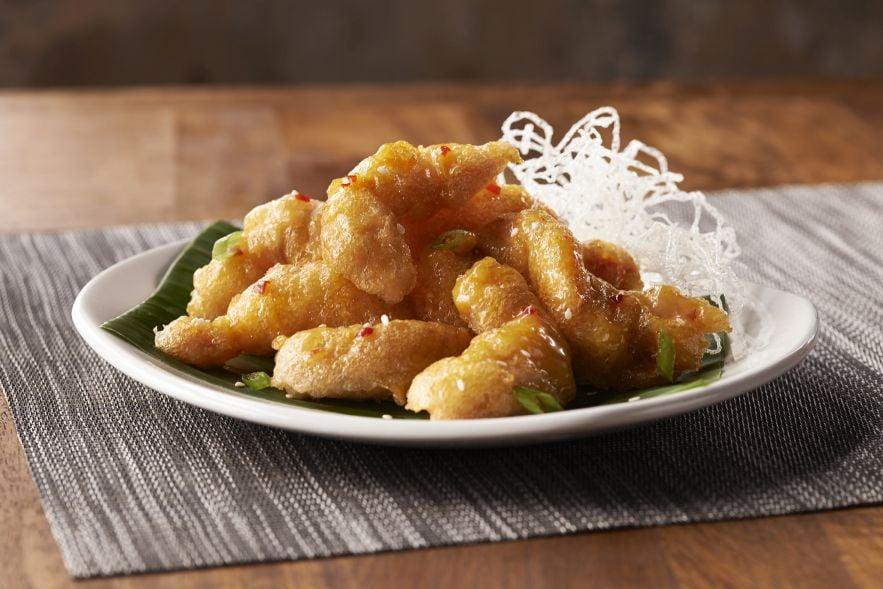 Firecracker poppers tempura fried shrimp creamy sweet for Big fish princeton