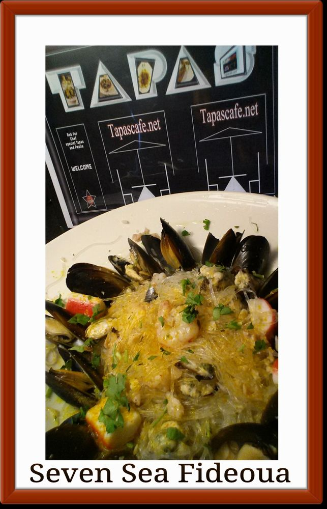 Tapas Cafe: 105 N  Broad St, Griffith, IN