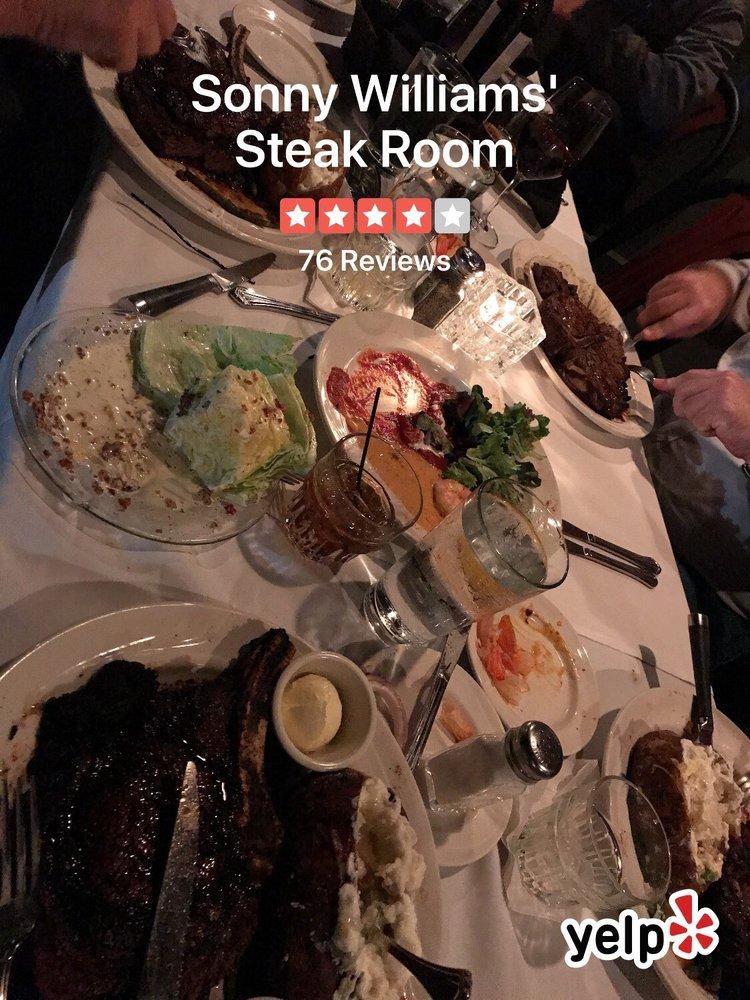 Sonny Williams' Steak Room: 500 President Clinton Ave, Little Rock, AR