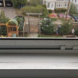 Brite lite window cleaning