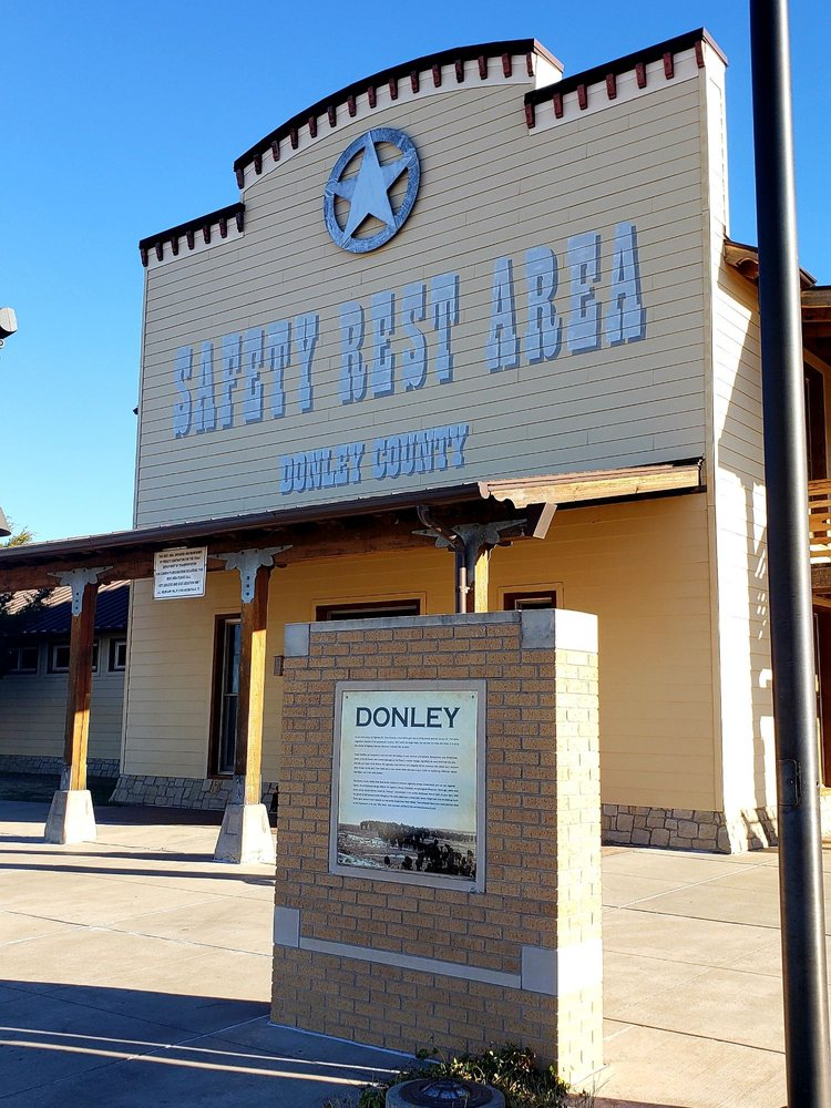 Donley County Safety Rest Area: Hedley, TX
