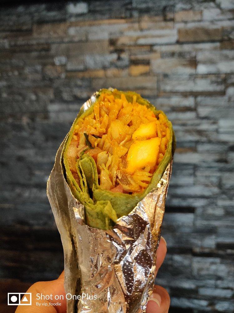 Food from Tikka Taco