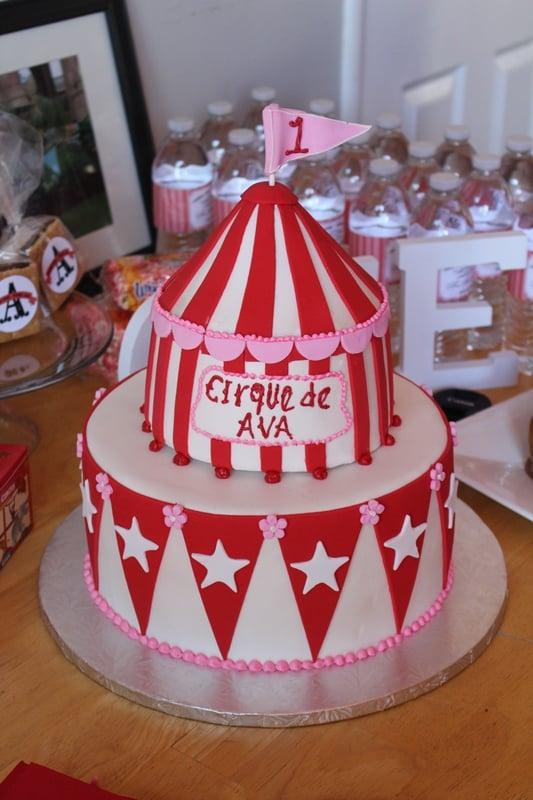 Photo of Fantasy Cakes - Vacaville CA United States. Circus Tent Cake & Circus Tent Cake - Yelp