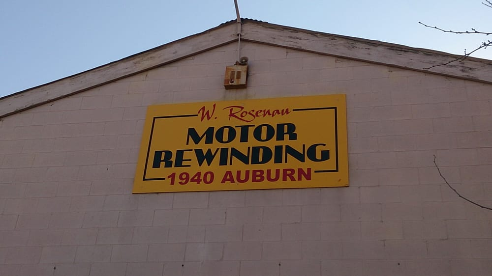 rosenau motor electrical repairs 1940 auburn blvd