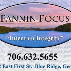 Fannin Focus Newspaper - Print Media - 2680 E 1st St, Blue