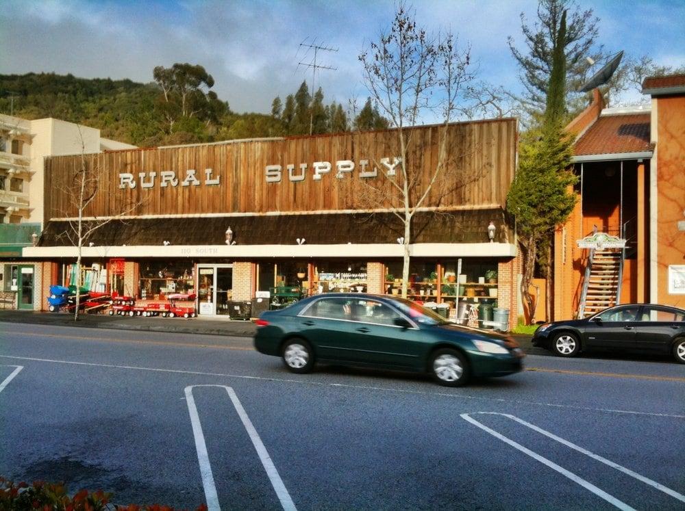 Rural Supply Hardware: 110 S Santa Cruz Ave, Los Gatos, CA