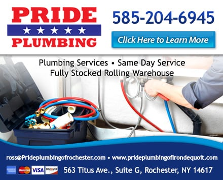 Photo Of Pride Plumbing Rochester Ny United States Ad Powered By