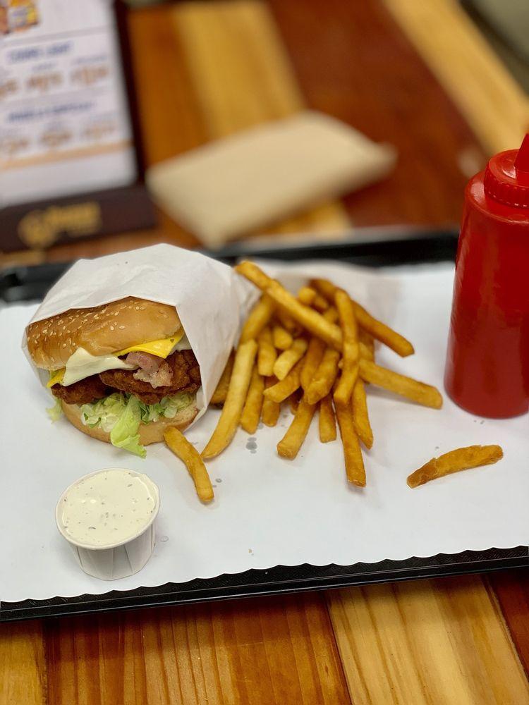 Food from Burger Barn