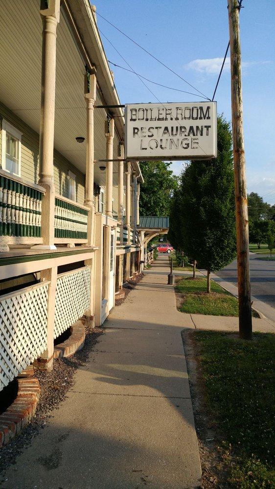 The Boiler Room Restaurant: 506 N Hanover St, Okawville, IL