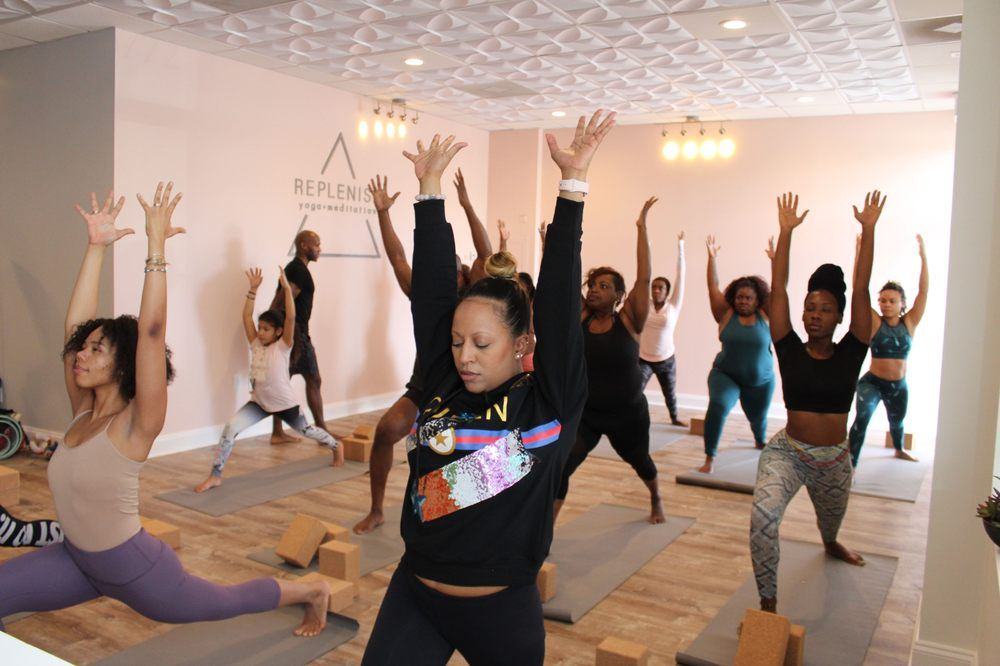 Replenish Yoga and Meditation: 6772 Race Track, Bowie, MD