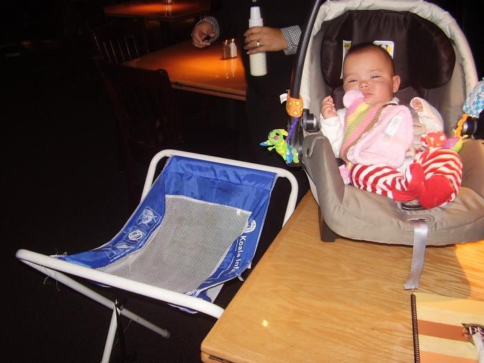 car seat sling thingy - super convenient for parents - Yelp