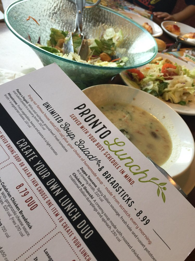 photo of olive garden italian restaurant city of industry ca united states - Olive Garden Unlimited Soup And Salad