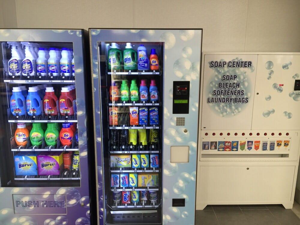 laundromat soap vending machine