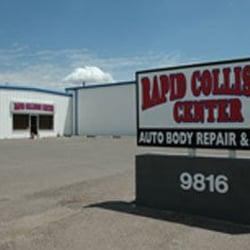 Rapid Collision Center V Rksted 9816 E Main St Mesa