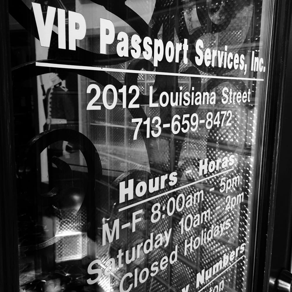 VIP Passport Services: 2012 Louisiana St, Houston, TX