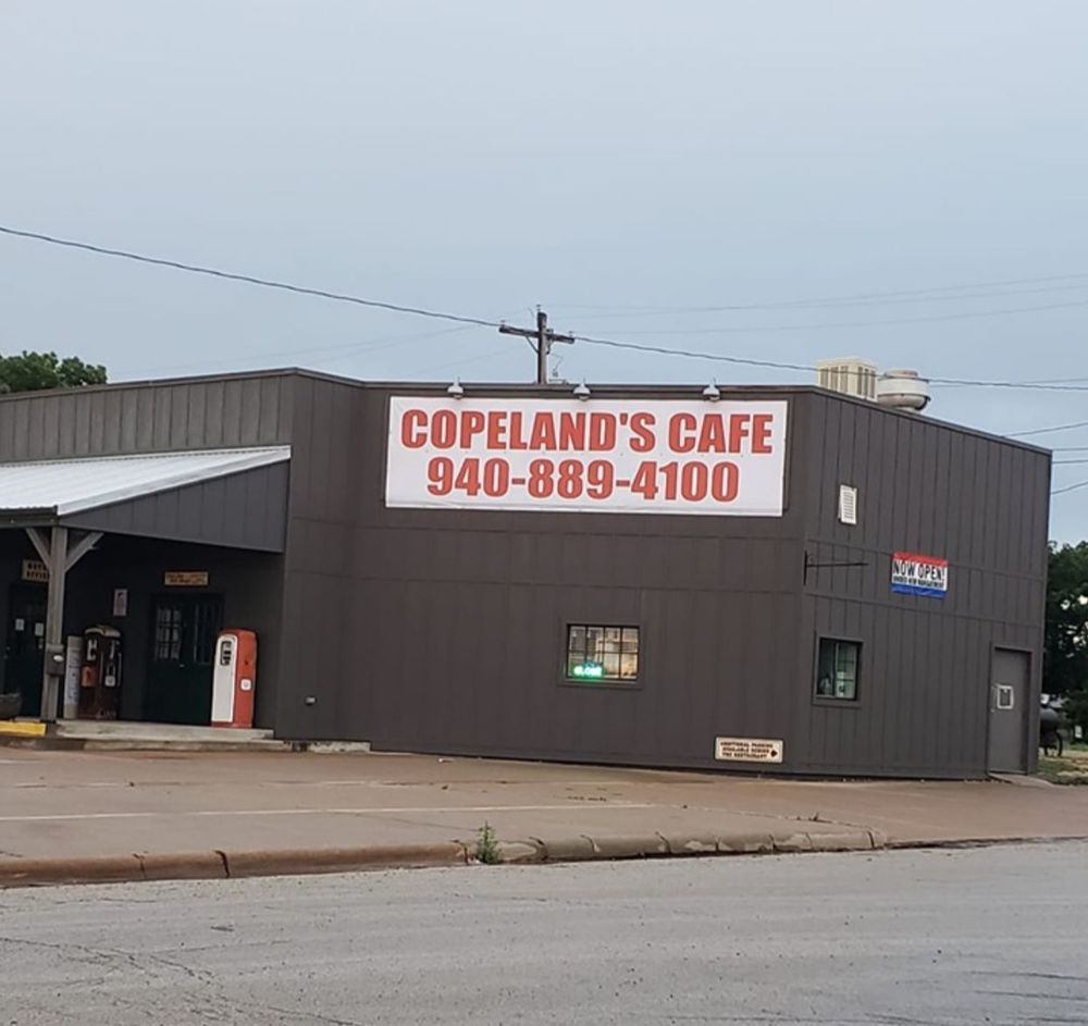 Copeland's Cafe: 400 S Main St, Seymour, TX