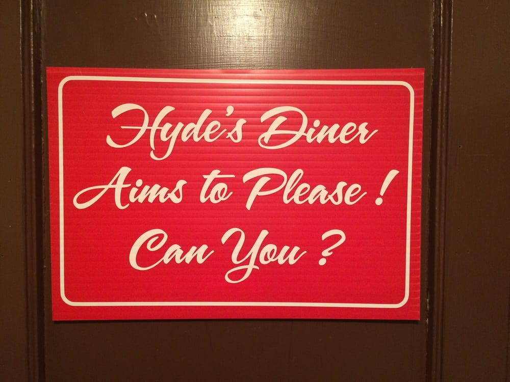 Food from Hyde Diner
