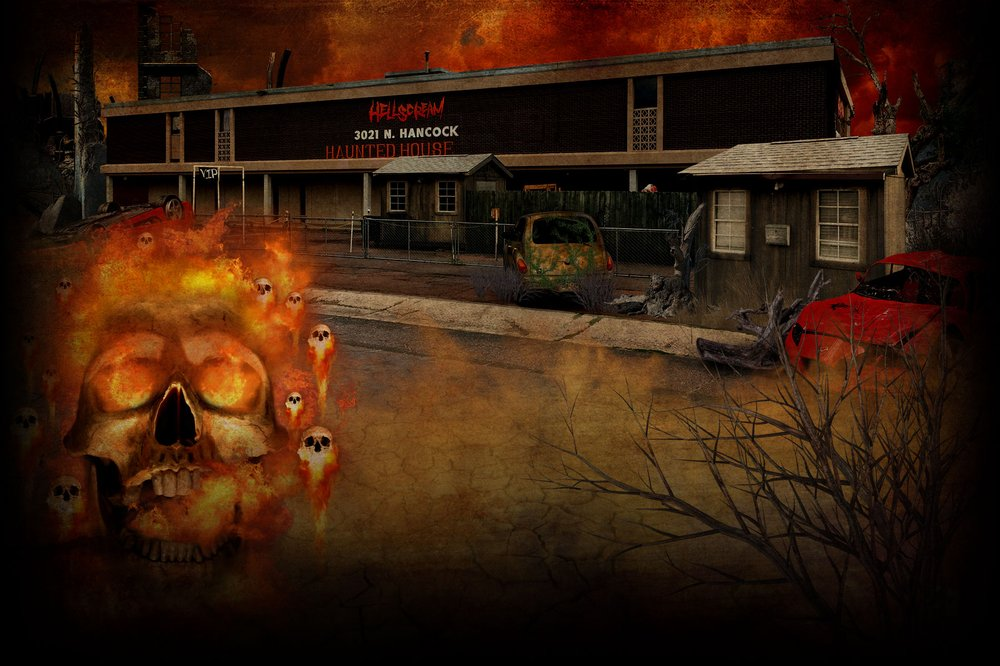 Hellscream Haunted House and Escape Rooms