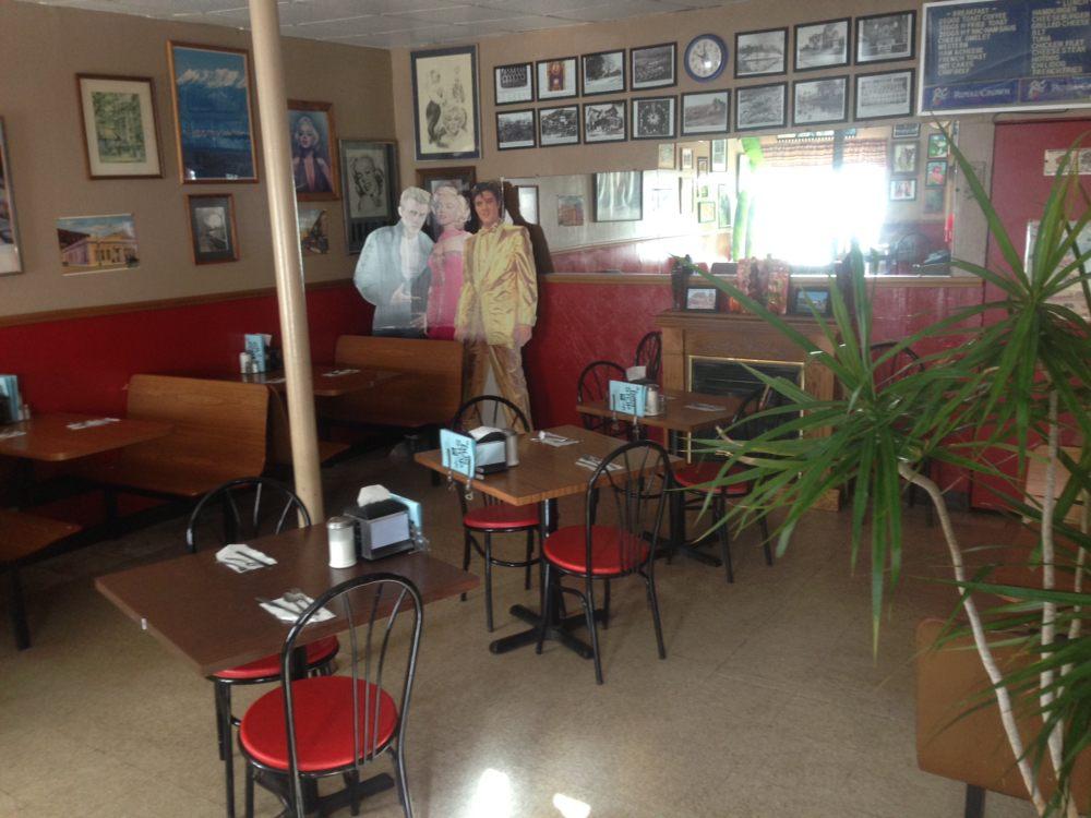 Bus Stop Cafe: 2 E Broad St, Nanticoke, PA