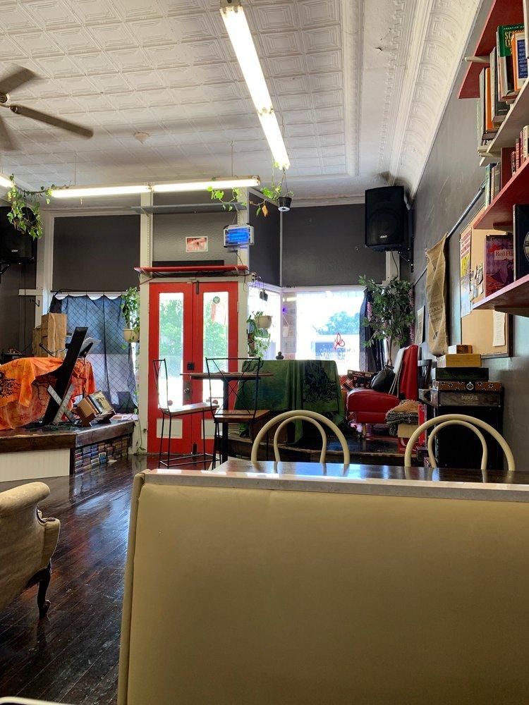 WiseFire Cafe & Bookstore: 113 N Shelby St, Blacksburg, SC