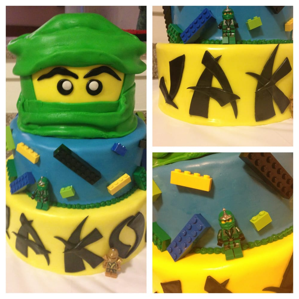 Whole Foods Ninjago Cake