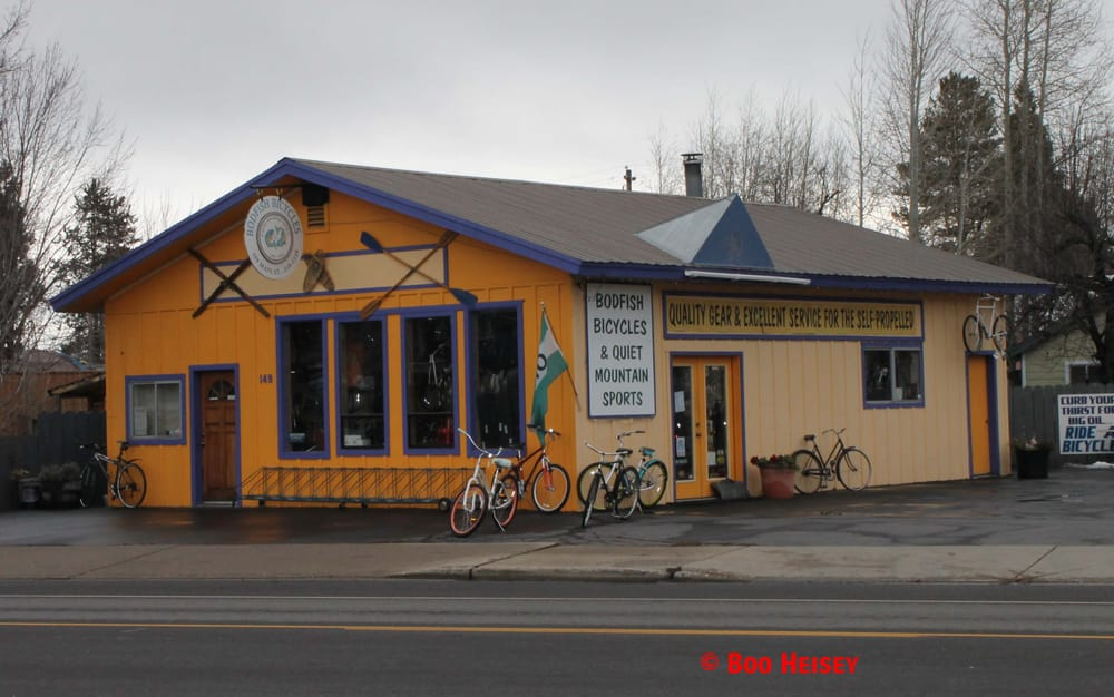 Bodfish Bicycles & Quiet Mountain Sports: 149 Main, Chester, CA