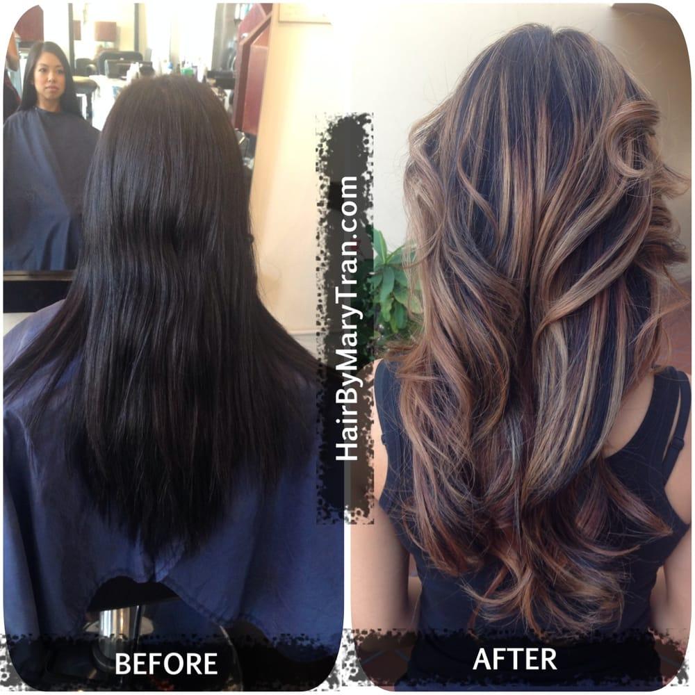 Color Correction Balayage Ombre Highlights And Haircut Yelp
