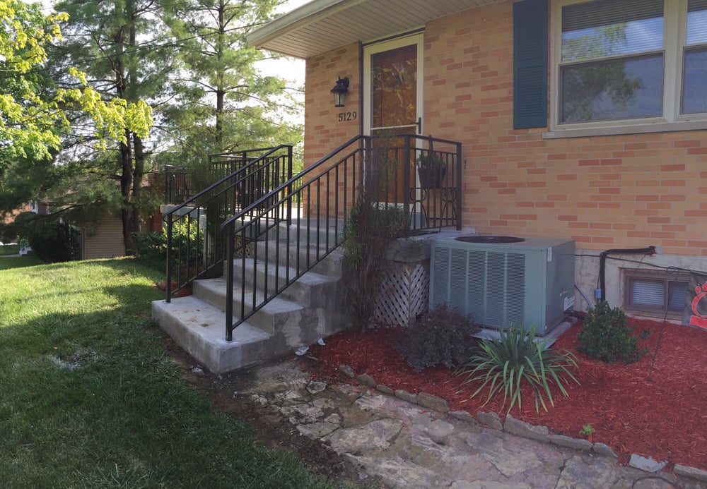 Alumina Railing & Custom Iron Works: 8301 Strimple Rd, Cleves, OH