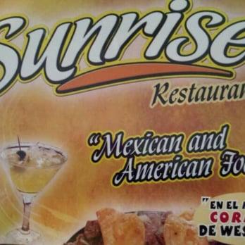 Sunrise Restaurant Weslaco Tx Menu