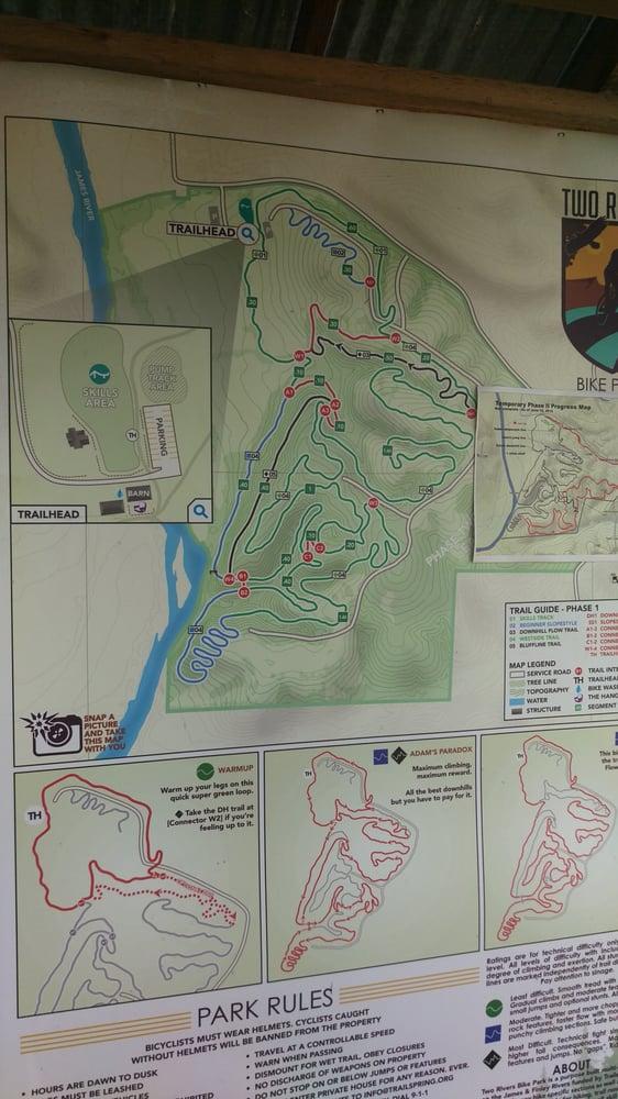 Two Rivers Mountain Bike Park: 5055 2 Rivers Rd, Highlandville, MO