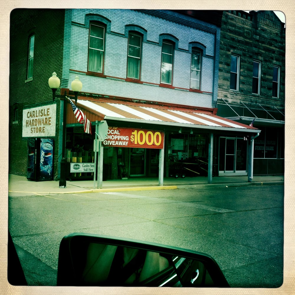 Medley's Carlisle Hardware: 101 N Ledgerwood St, Carlisle, IN