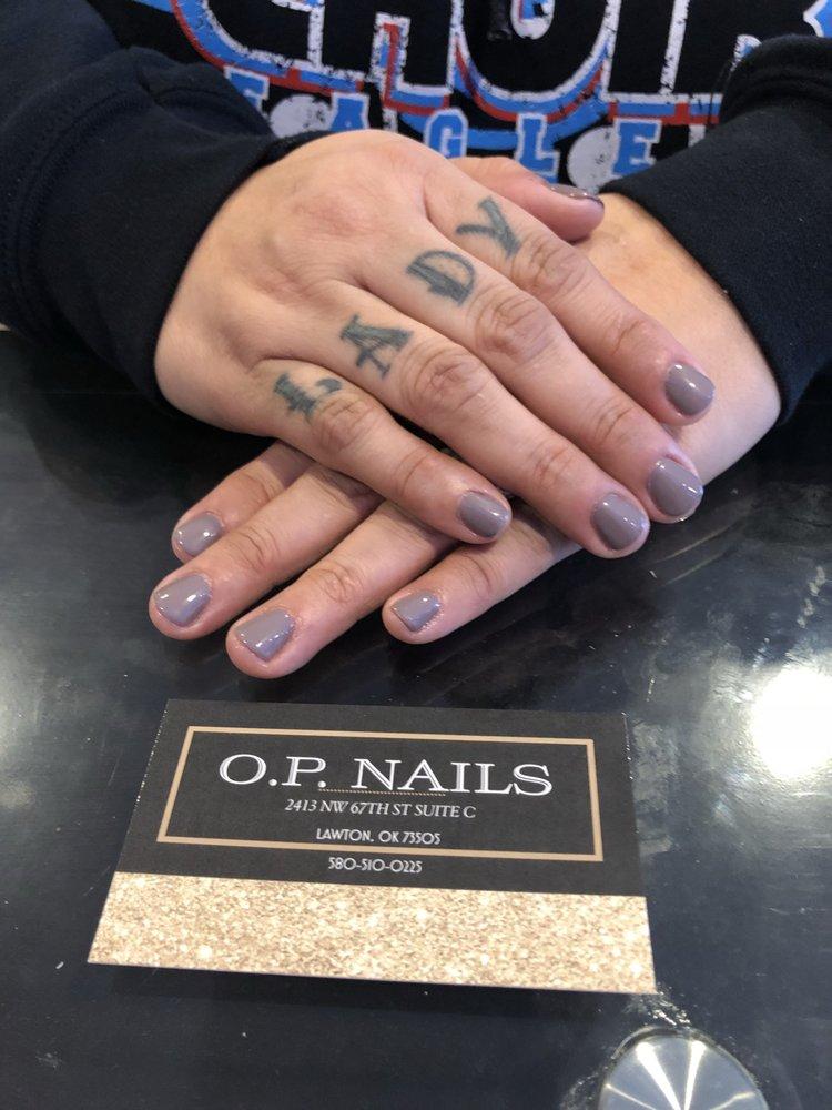 O P Nails: 2413 NW 67th St, Lawton, OK
