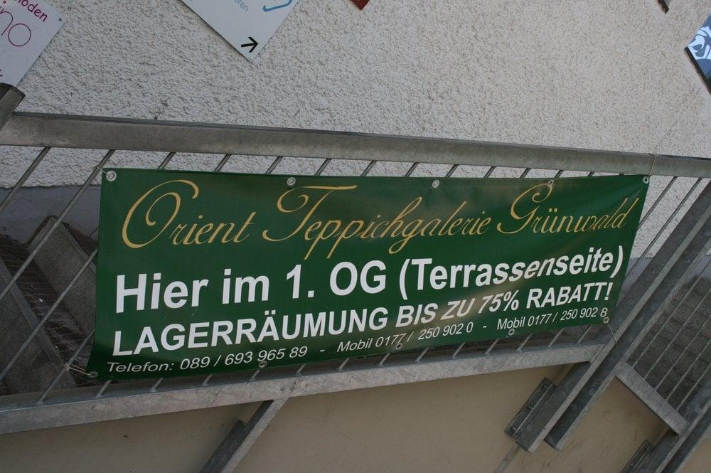 Orient Teppich Galerie Grünwald  Shopping  Grünwald