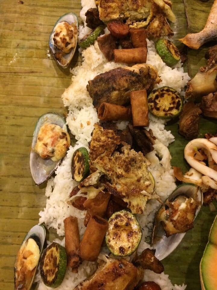 Boodle fight contents ...