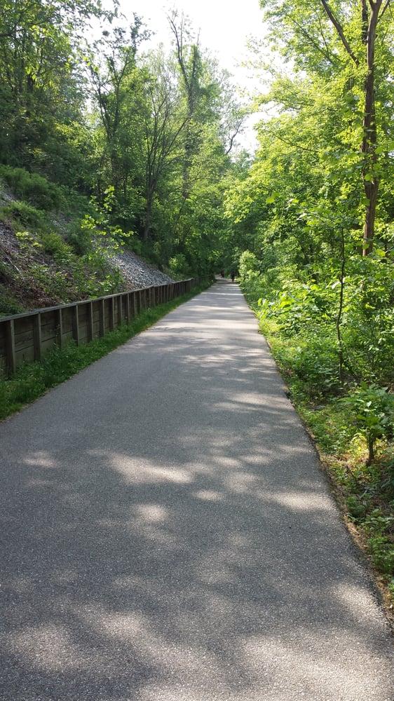Cascade Trail in Patapsco Valley State Park - Orange Grove Area