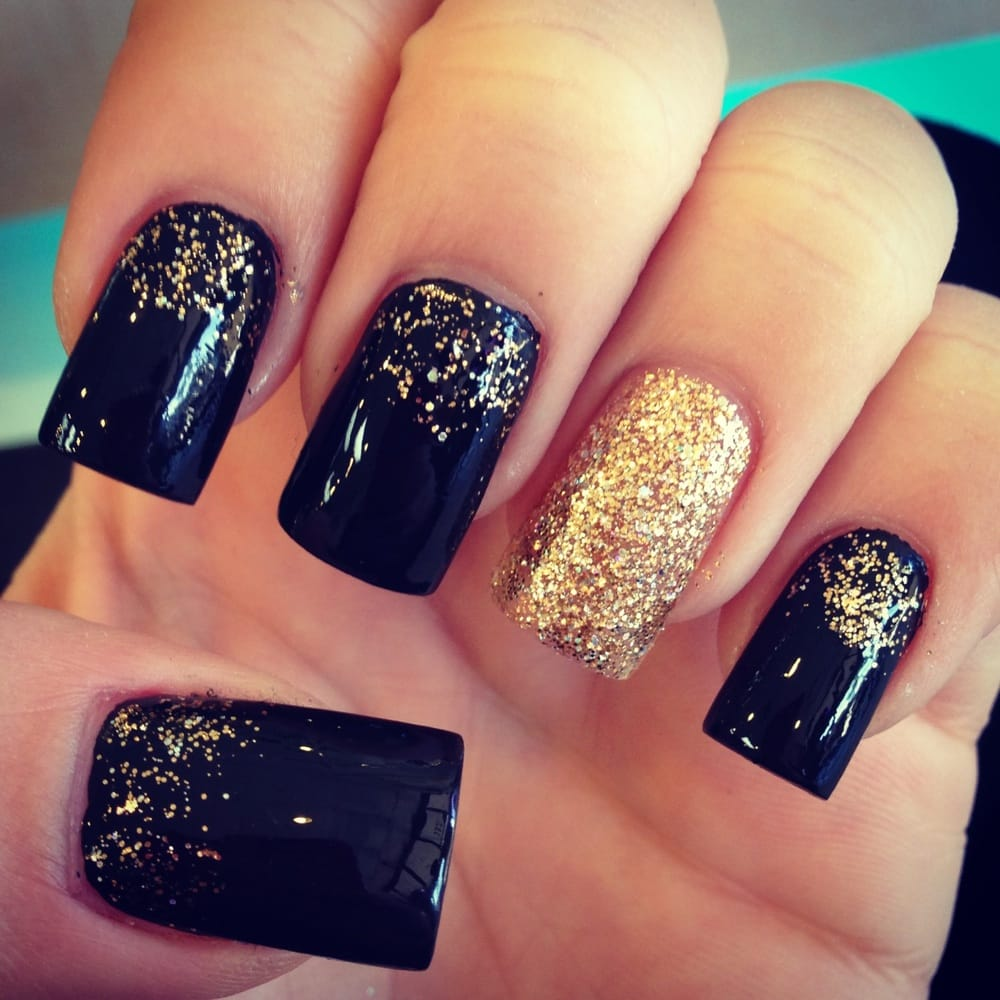 My New Years nails 2014 done by Danny!!! - Yelp